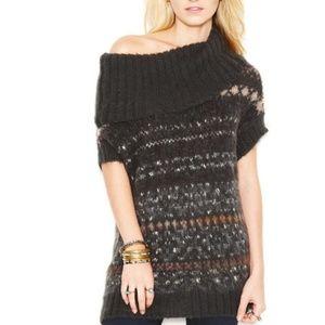 Snow Bunny Nordic Print Wool Alpaca Blend Sweater